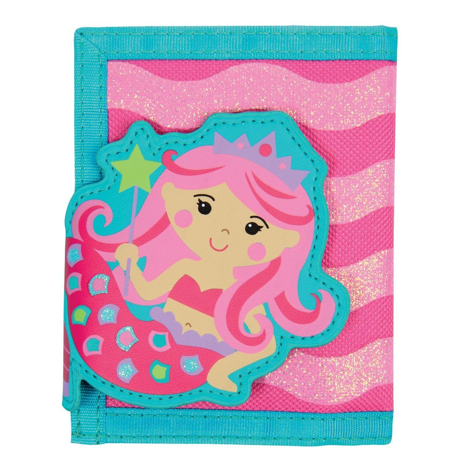 Stephen Joseph Mermaid Wallet for Girls - Money Holder for K