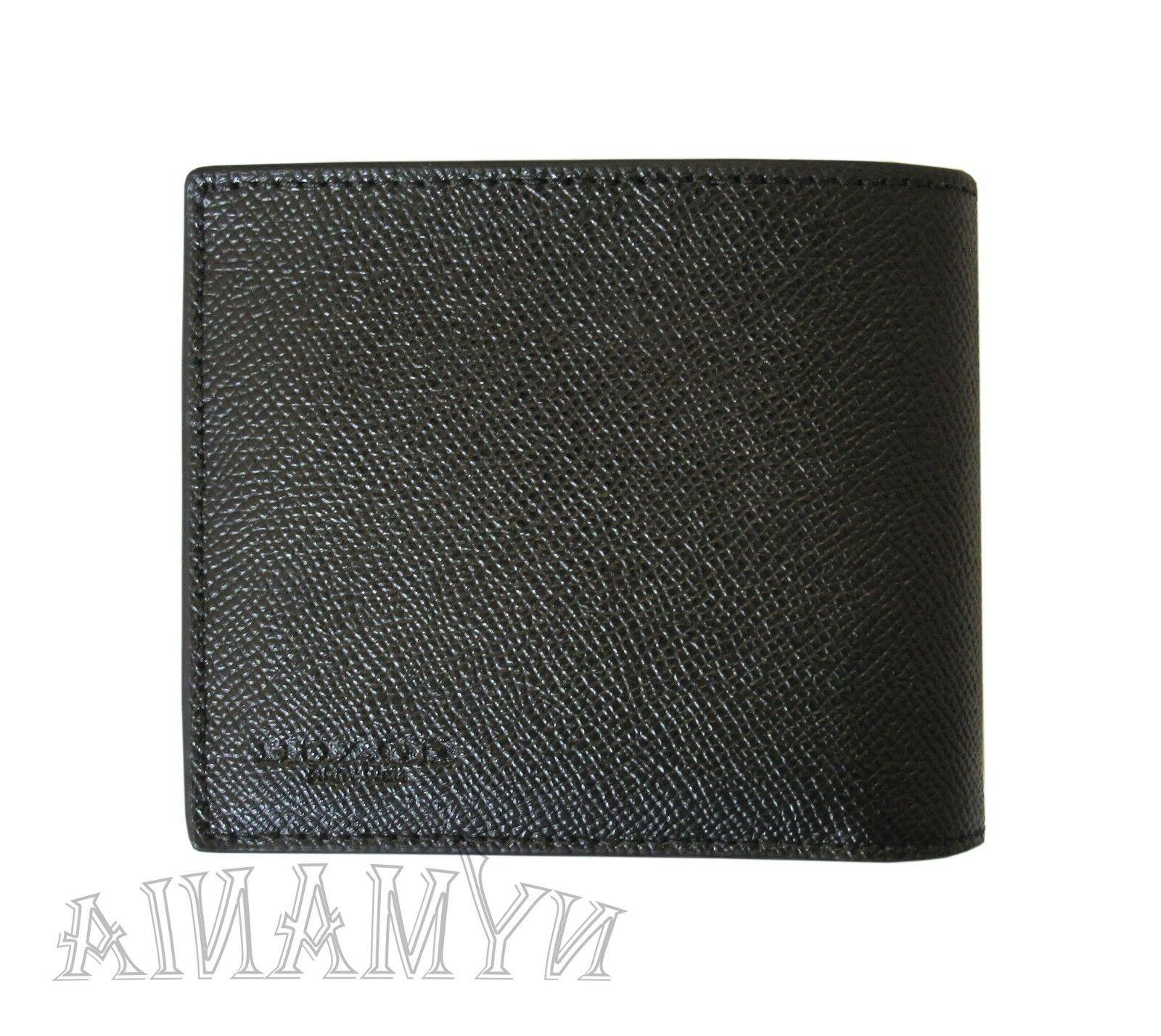 New F59112 3-IN-1 ID Leather BOX