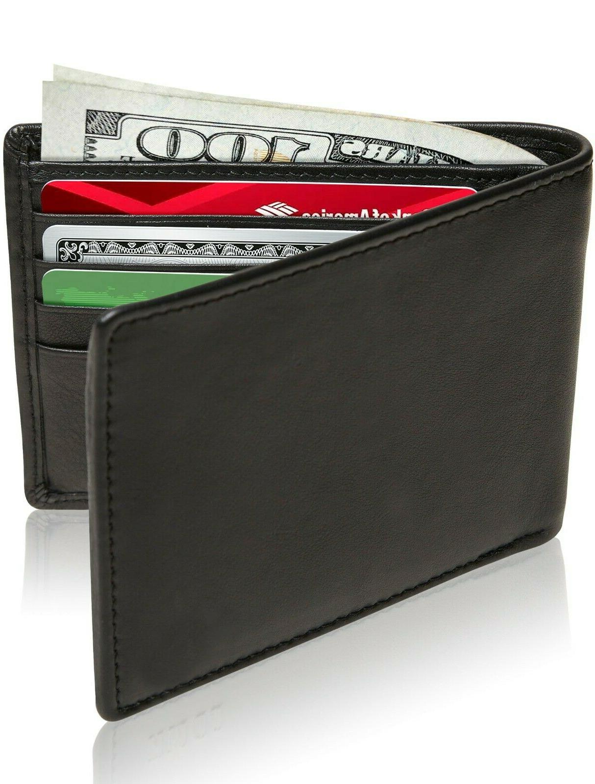 new genuine leather wallets for men nylon