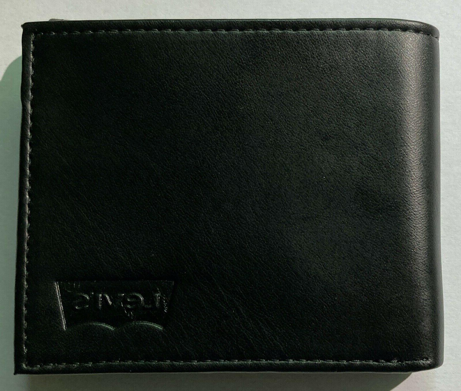NEW Levi's Wallet Protection and - Black