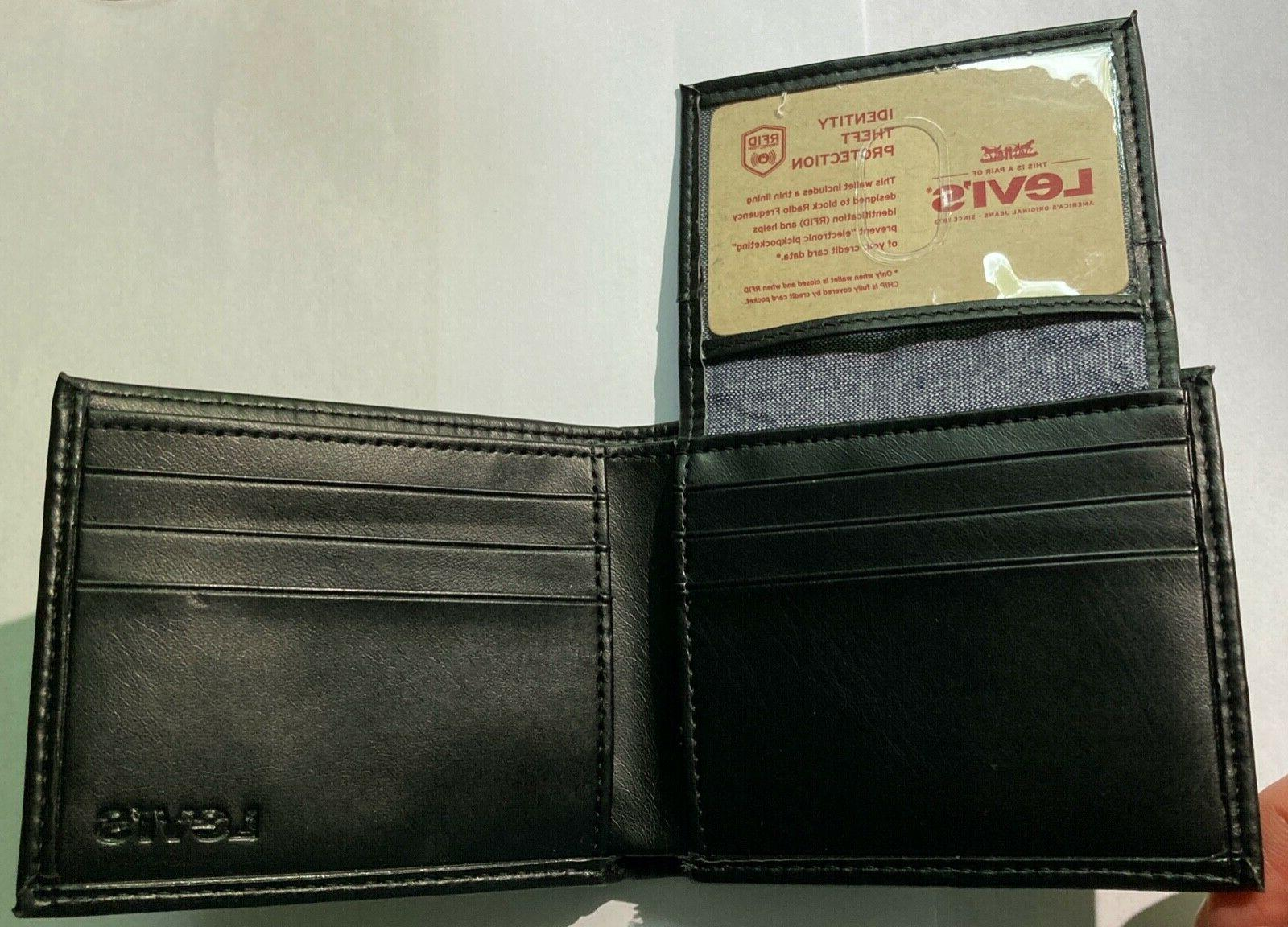 NEW Wallet with Protection and Black