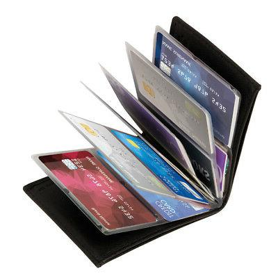 Amazing Slim Wallets As Seen Black Leather