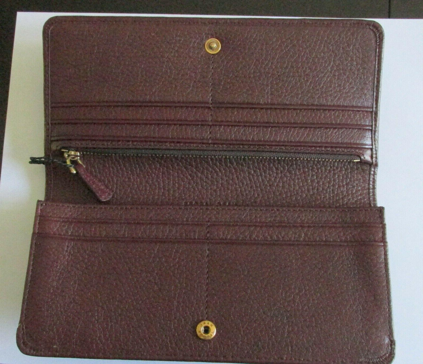 NWT MARC Jacobs Wallet in Maroon