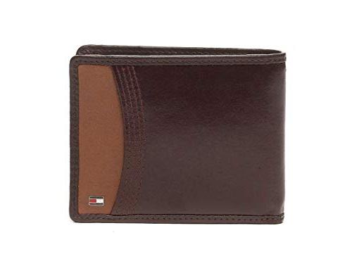 passcase leather brown men credit