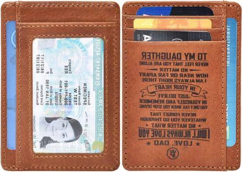 Personalized-Gifts from Dad Leather Wallet 4