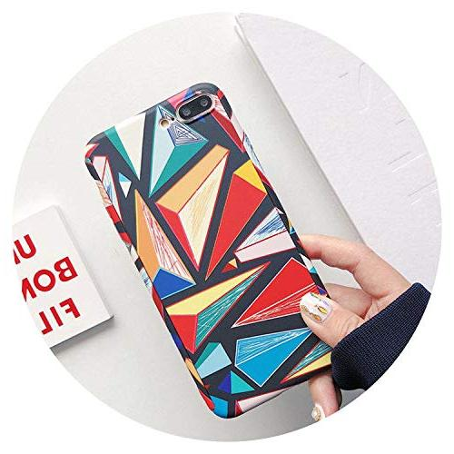 protection geometry painted hard phone