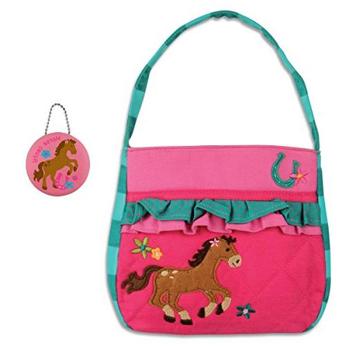 quilted horse purse