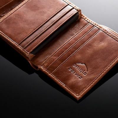 Alpine Swiss Wallet Extra Capacity Card Windows