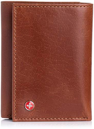 rfid blocking mens wallet extra
