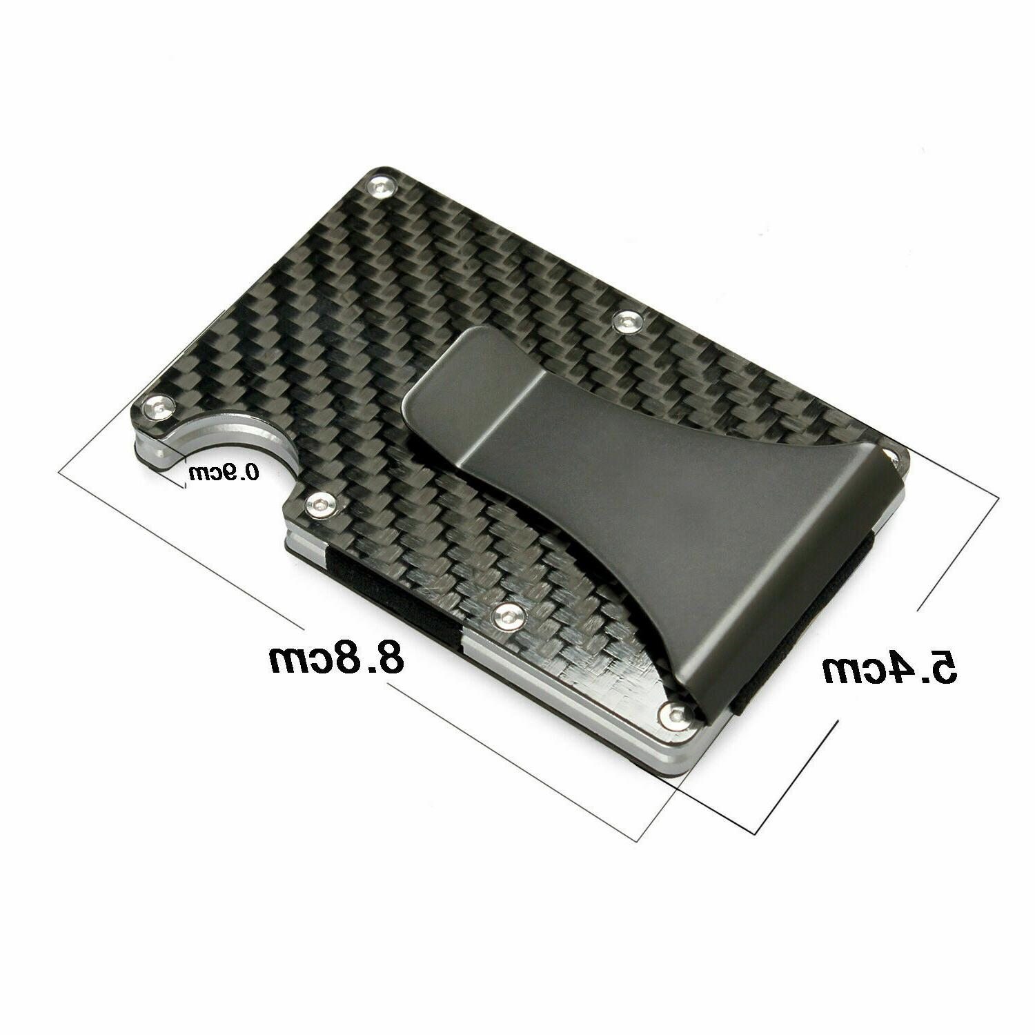 RFID Slim Money Credit Holder Wallet