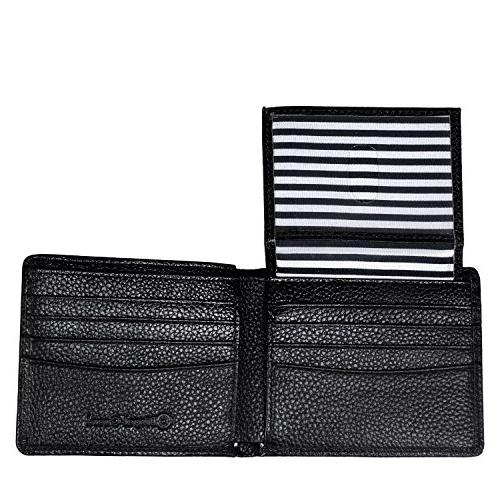 RFID Blocking & Genuine Wallets for Men Extra Travel Bifold Stylish Genuine Leather, Wallet.
