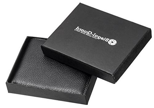RFID Blocking Wallets for - Extra Capacity Travel Bifold Stylish Gift, Made