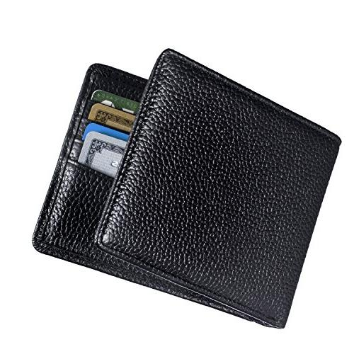RFID & Wallets Extra Multi Travel Sleek and Stylish Genuine Leather, Wallet.