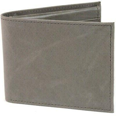 RFID Swiss Mens Deluxe Genuine Leather Bifold