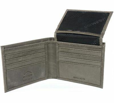 Mens Deluxe Leather 14 ID Bifold