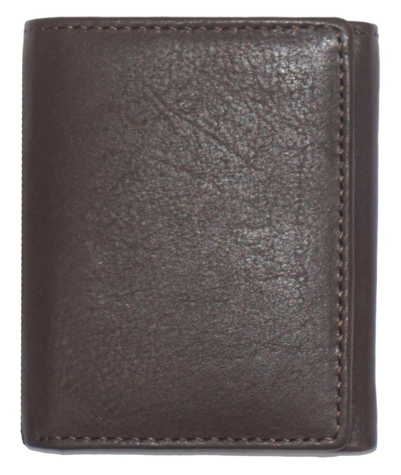 RFID Signal Trifold Leather