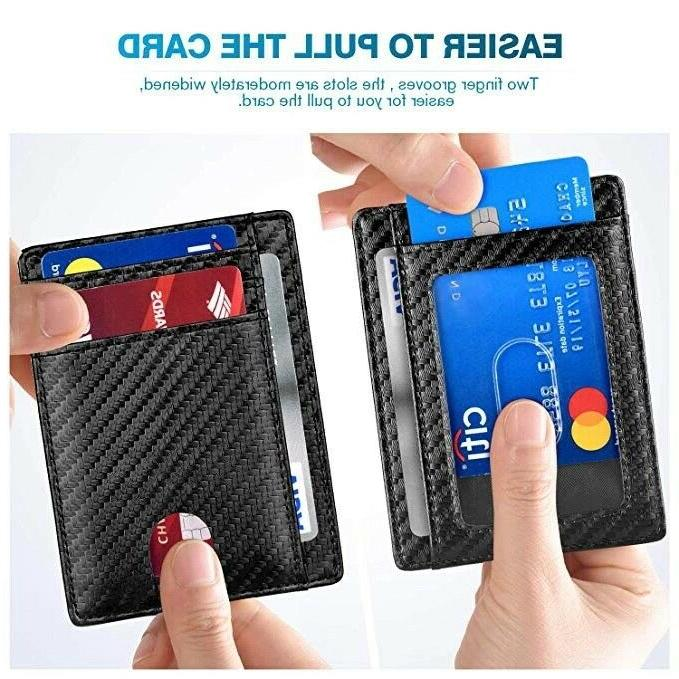 Slim Front RFID Blocking for Wallet
