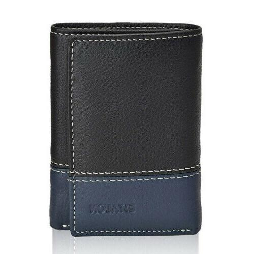 Slim wallet mens wallet with RFID technology blocking
