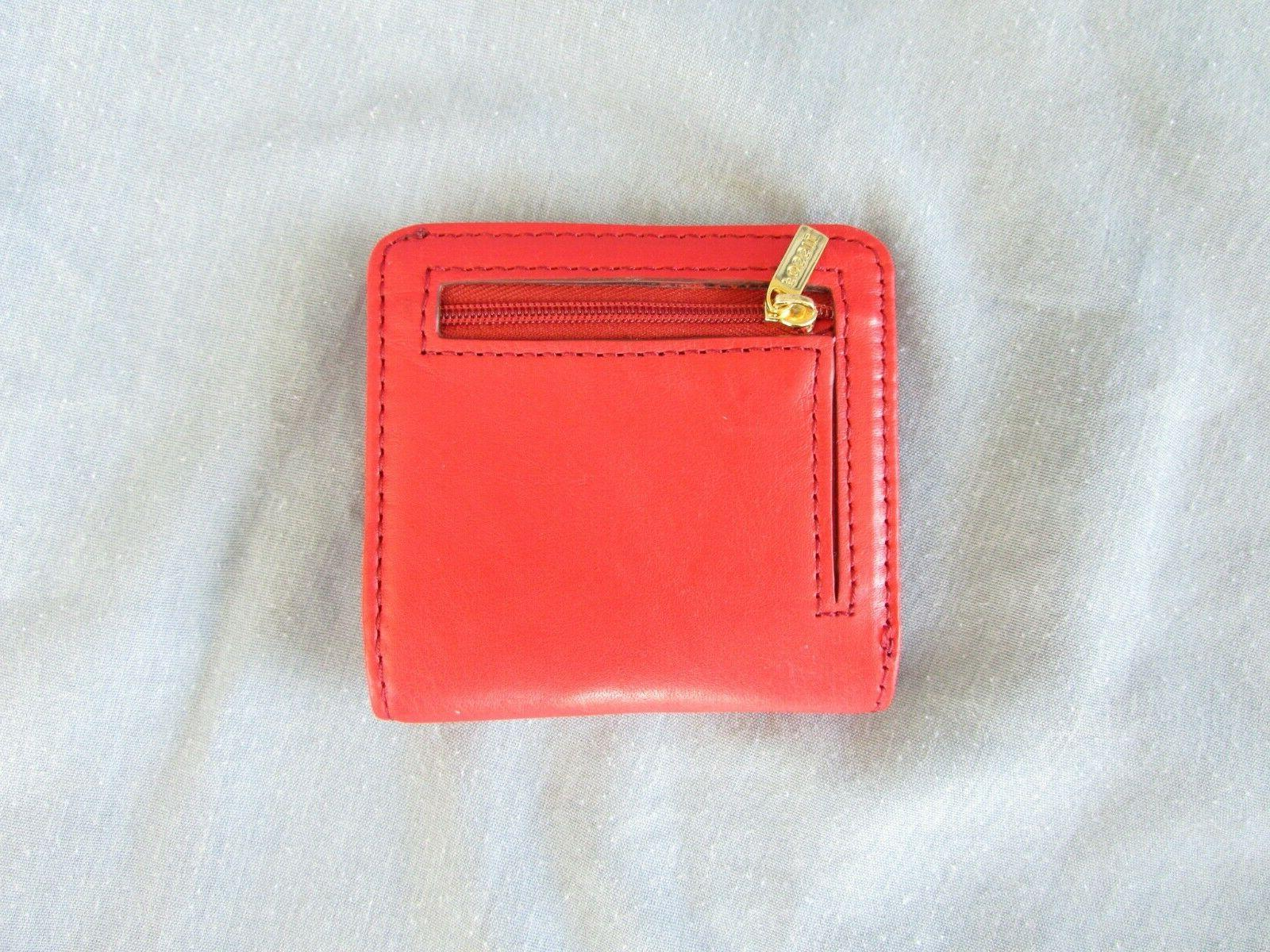 FOSSIL LEATHER ID NEW WITHOUT TAGS SHIPPING