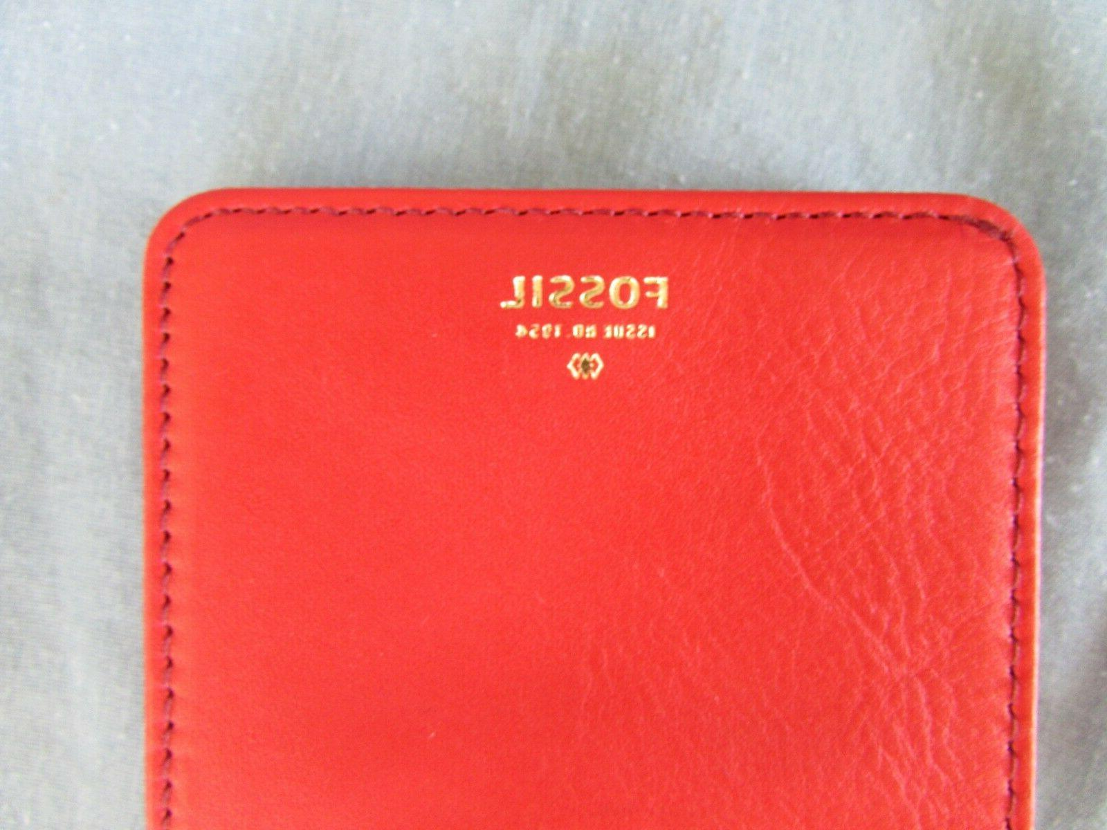 FOSSIL LEATHER NEW WITHOUT TAGS FREE SHIPPING