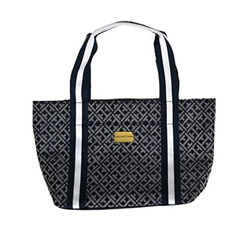 small tote purse in navy