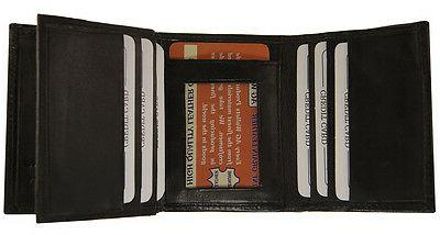AG Wallets Mens Crocodile Credit ID