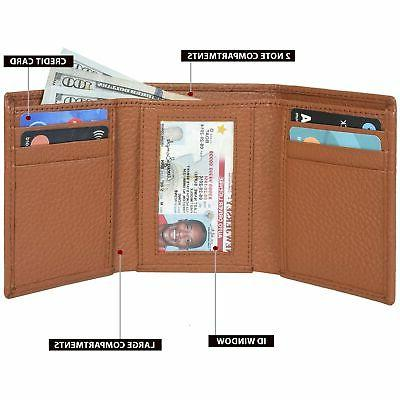 Trifold Wallets for - Real RFID Protected Wal...