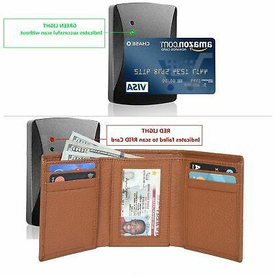 Trifold Wallets for - Leather Protected Wal...