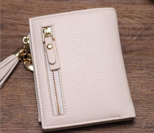 US Women Leather Clutch Card Holders