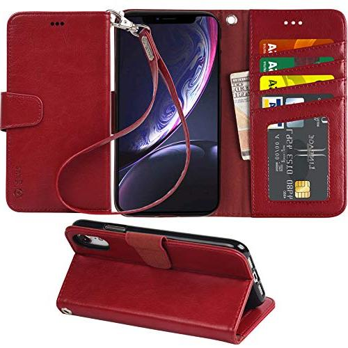 wallet case for iphone xr 2018 pu