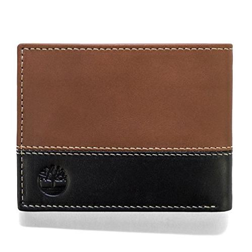 wallet commuter bifold real leather