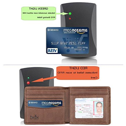 Wallet RFID Bifold Wallet Window