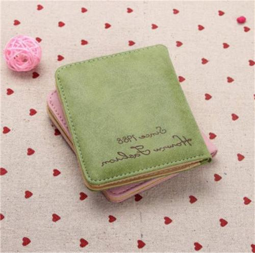 Women's Leather Wallet Purse Clutch Lady Card Small Bags US STOCK