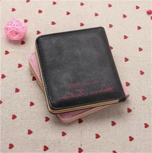 Women's Leather Wallet Card Small STOCK