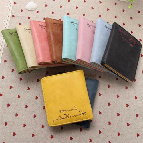 women s leather wallet coin purse clutch