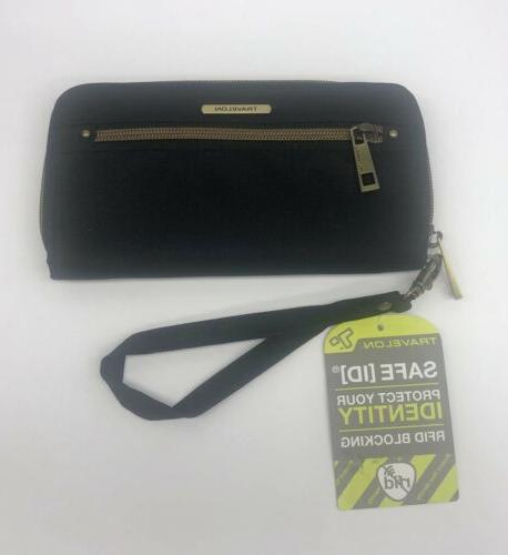 women s tailored clutch safe id wallet