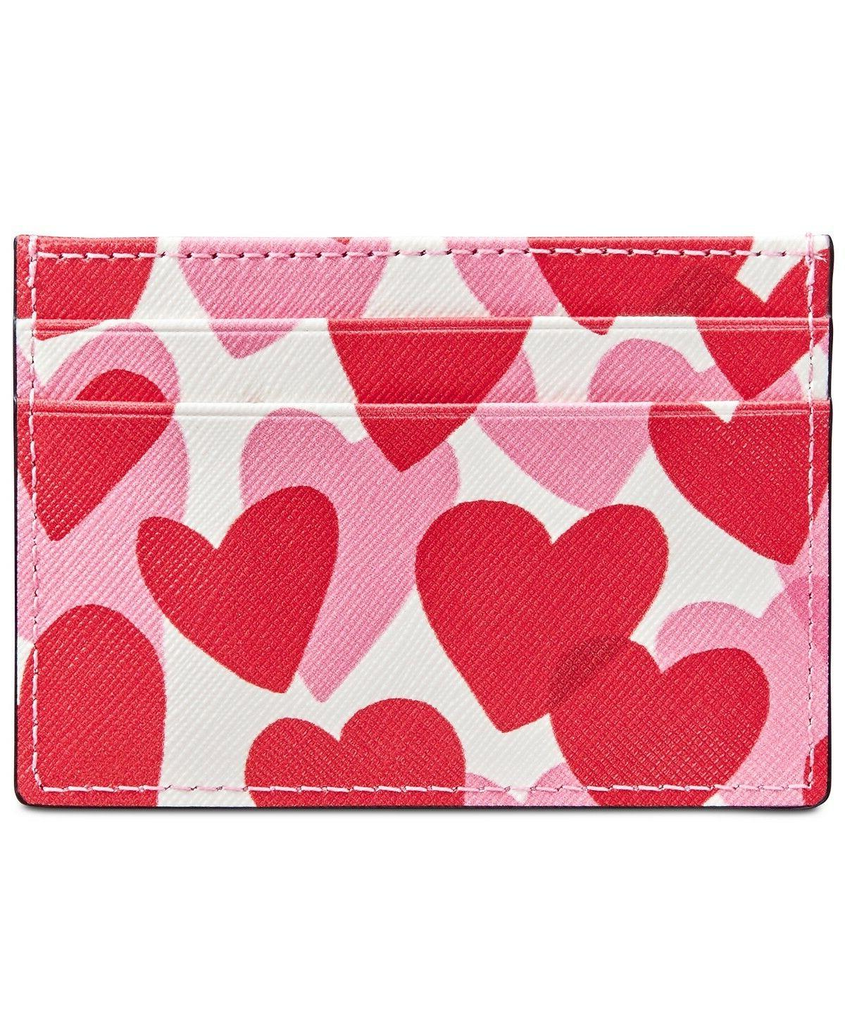 women s yours truly print card holder