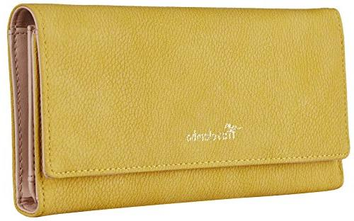 womens wallet faux leather rfid blocking purse