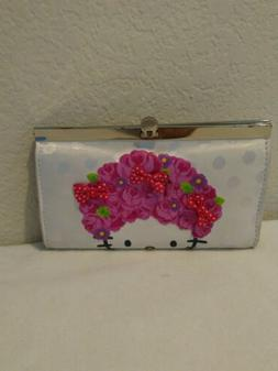 Hello Kitty Ladies Women clasp wallet purse preowned