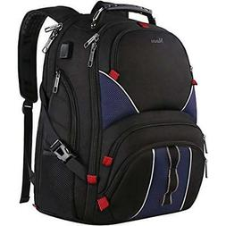 17 inch laptop backpack,Water Resistant TSA Friendly Busines