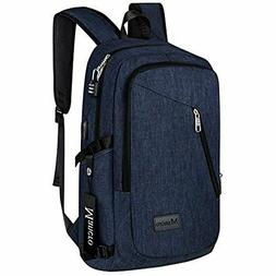 Laptop Notebook Bag Backpack With USB Charging Port Safe IPh