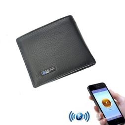 leather bluetooth smart wallet anti lost finder