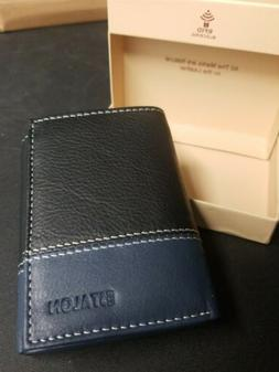 Estalon Leather wallet for men-with rfid blocking card walle