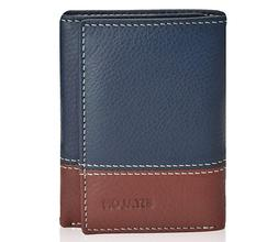 leather wallet for men with rfid blocking