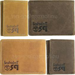 Timberland Pro Leather Wallet Men RFID PULLMAN Passcase, Bif