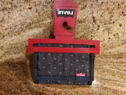 LEVI GRAPHIC VELCRO TRIFOLD WALLET