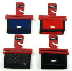 Levi's Classic Trifold Velcro Wallet  - NEW