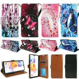For LG K51 / Reflect, PU Leather Design Wallet Phone Case Co