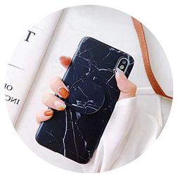 Marble Case for iPhone 8 7 Plus 6 6S Case Gold Chic Holder S