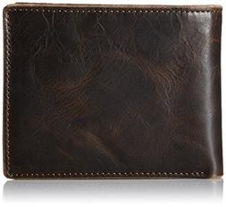 Fossil Men's Anderson Genuine Leather Bifold Wallet with F